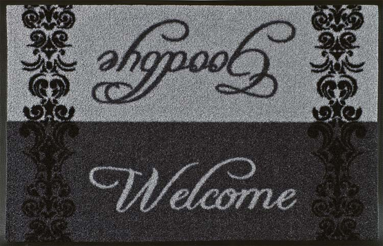 TAPETE W&D WELCOME GOODBYE 75x45cm
